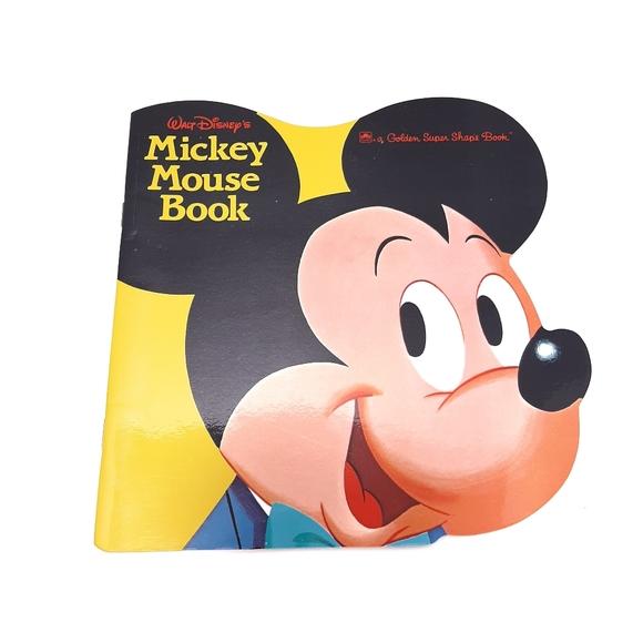1965 Walt Disney Mickey Mouse Golden Shape Book